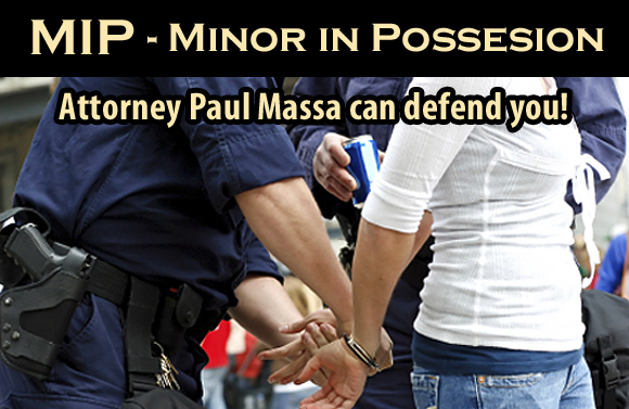 New Orleans MIP Lawyer Paul Massa - Minor in Possesion